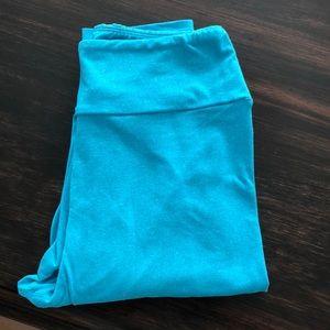 LuLaRoe OS Teal leggings